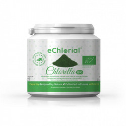 Boîte Poudre 350g - Premium Chlorella Bio