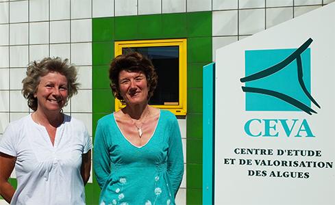 Muriel Cathaud rencontre Helene Marfaing au CEVA