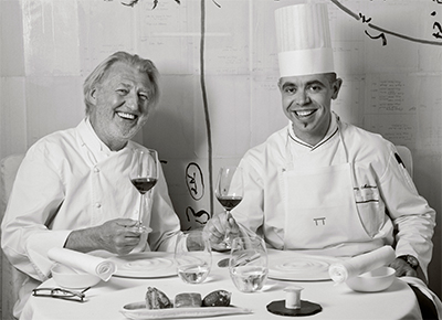 Pierre Gagnaire et Thierry Mechinaud