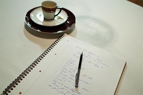 Notes prises pendant l'interview